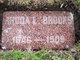 Rhoda Louisa <I>Whitford</I> Brooks