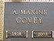 Profile photo:  A Maxine Covey