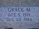 Profile photo:  Grace M. Abraham