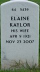 Profile photo:  Elaine <I>Kaylor</I> Cline