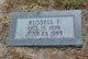 Russell F Wilgus