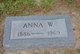 "Christy Anna ""Anna"" <I>Wilgus</I> Leary"