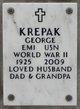 Profile photo:  George Krepak