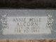Profile photo:  Annie Belle Alcorn
