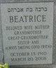 Profile photo:  Beatrice <I>Novick</I> Bronston