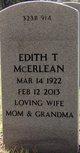 Profile photo:  Edith T. <I>Tuten</I> McErlean