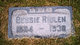 Profile photo:  Bessie Annabel <I>Rowe</I> Ridlen