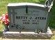 Profile photo:  Betty Jo <I>Criswell</I> Ayers