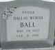 Profile photo:  Dallas Worth Ball