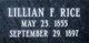 Lillian <I>Flournoy</I> Rice