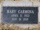Mary Carmona