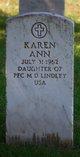 Karen Ann Lindley