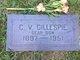 """Clarence Vernon """"CV"""" Gillespie"""