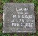 Laura Melissa <I>Tomlinson</I> Davis