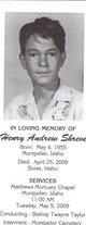"""Henry Andrew """"Sonny"""" Shreve"""