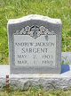 Andrew Jackson Sargent