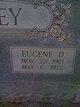Eugene D Lindsey