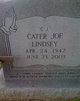 "Cater Joe ""C. J."" Lindsey"
