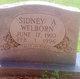 Sidney A Welborn
