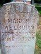 Harold McGee Welborn