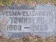 Velma Elizabeth <I>West</I> Townsend
