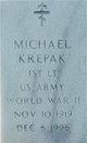 Profile photo:  Michael Krepak