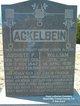 Auguste Pauline <I>Specht</I> Ackelbein