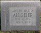 Profile photo:  Adolph Martin Allgeier