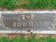 Clarence E Bowman