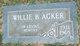 Willie B. Acker
