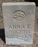 Profile photo:  Anna E. Rogers