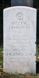 Billy C Lemon, Sr