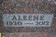 Profile photo:  Aleene Belote