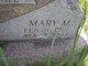 Mary M <I>Kelly</I> Abbott