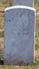 Lucile Elizabeth <I>White</I> Lehmann