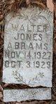 Profile photo:  Walter Jones Abrams