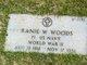 Ranie W. Woods