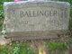 Belle Ballinger
