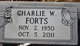 Charlie W Forts