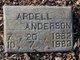 Profile photo:  Ardell Anderson