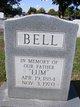 "Profile photo:  Columbus Wilson ""Lum"" Bell"