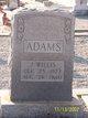 J Willis Adams