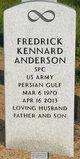 Spec Frederick Kennard Anderson