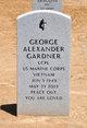 Profile photo: LCpl George Alexander Gardner