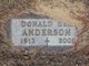 Donald George Anderson