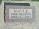 Profile photo:  Mary Frances <I>Cobb</I> Alvord