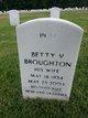 Betty V Broughton