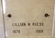 Profile photo:  Lillian N. Ruess