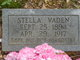 Profile photo:  Stella C. <I>Vaden</I> Carrithers