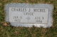 "Profile photo:  Charles Joseph ""Chuck"" Michel"